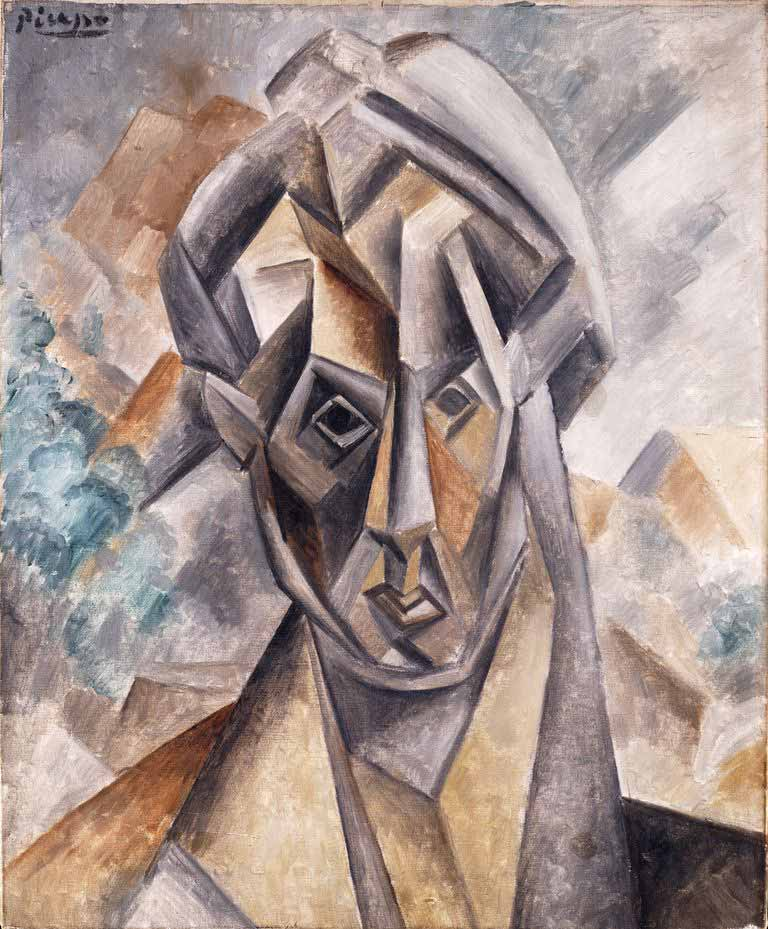 Pablo picasso Head of Woman Fernande